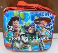 1piece High Quality Nylon Cartoon Toy Story Lunch bag (including a lunch box) retail fashion bag