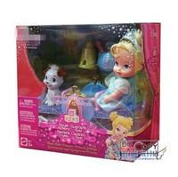 Genuine  fairy tale princess doll,Cinderella Royal Nursery Teeter-Totter Princess Playset ,toys for girls