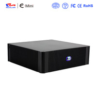 Popular Fashionable Desktop Computer Case,Mid Tower Mini ITX (Self-Powered) Aluminum  HTPC/ Media player  Case E-N3