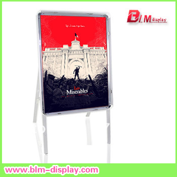 direct manufacturer pavement display sign boards single Poster Stand for adversting message FEDEX IE FREE SHIPPING BLMHS501(China (Mainland))