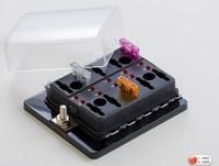 LED Multi Blade Fuse Holder  Fuse Block Quick Terminal Type for Standard Blade Fuses ,LED fuse block