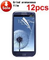 2015 12 X Hot Sale Anti Glare Matte Screen Protector Cover For Samsung Galaxy S3 III i9300 t999
