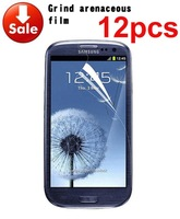 2014 12 X Hot Sale Anti Glare Matte Screen Protector Cover For Samsung Galaxy S3 III i9300 t999