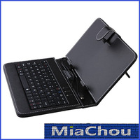Fashoin and Cheap 7 inch Leather Case USB Keyboard Stylus Pen for MID Smart Phone Tablet PC