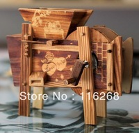 Eco-friendly model bamboo winnowing windmill home accessories decoration crafts Household act the role ofing  tasted decoration