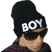 Boy Bigbang winter hats wool cap wool cap knitted hat elastic tide brand men hip hop hiphop hip-hop hat