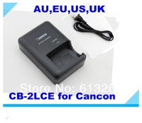 Free Shipping 20pcs/lot 100%New CB-2LCE Charger For Canon Digital Camera Li-ion Battery NB-10L G1X SX40