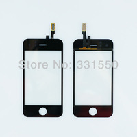 Wholesale 10pcs/ Lot New Digitizer Touch Screen Glass Panel Replacement Parts for iPhone 3GS 8GB 16GB 32GB