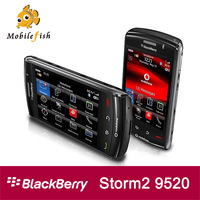 High Quality Unlocked Original BlackBerry Storm2 9520  3G GPS WIFI Single Core Cell Phone Free Shipping