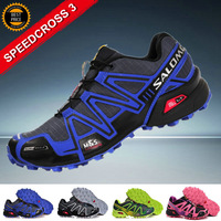 New Arrived New Colors Salomon SPEEDCROSS 3 Outdoor Sports Shoes Men Athletic Walking Shoes Mens Running shoes