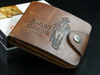 Free shipping Hot Casual wallet men's wallet male wallet short design male cowhide multi card holder leather wallet