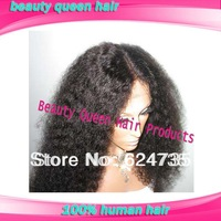 2013 autumn new style afro kinky curly virgin hair glueless full lace wigs with baby hair & front lace wig free shipping