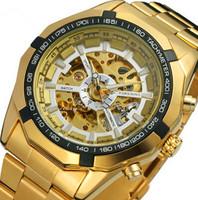 2015 Brand NEW Steampunk Military Mens Automatic Mechanical Wrist Watch