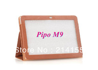 10.1 inch original Leather Case cover for Pipo M9 3G Wifi Pro RK3188 Quad Core Tablet PC