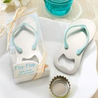 Creative Practical Favor  Flip Flop Beach Thong Bottle Opener For Wedding Favour Bomboniere Baptism Bridal Shower  Party Gift