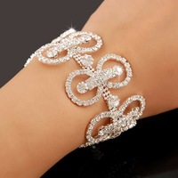 New Arrival!!2013 Christmal Gift Fashion CZ Diamond Bracelet,Charms Full Drill Women Bracelet,Jewelry Bracelet YHDSH005
