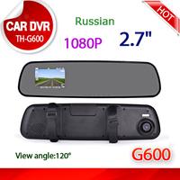 2pieces/lot Original TH Car DVR Full HD 1920x1080P Car Camera Recorder 2.7 inch LCD G-Sensor HDMI Car DVR mini car dvr
