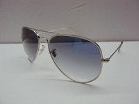 Wholesale sales of men's women's sunglasses  Silver frame gradient lenses  Designer Brand Sunglasses  with box