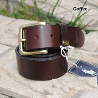 Genuine Leather Vintage Mens Belts Fashion Brand designer Men Belt Male Famous Strap Cinto 120cm Black Brown Ceinture MBT0041
