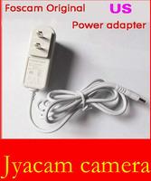 White Foscam Original US Power Adapter for foscam ip camera  5V 2A Excellent quantity power Adapter