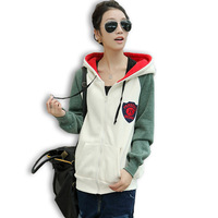 2013 Autumn and Winter Sweatshirt Outerwear clothing Autumn women's Outerwear Female casual
