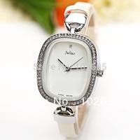 New 2013  Picture Julius fashion Quartz  Watch  Diamond Dot Hour Marks Leather Watch Band for Women  dress watches  brand women