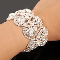 New Arrival!!2013 Christmal Gift Fashion CZ Diamond Bracelet,Charms Full Drill Women Bracelet,Jewelry Bracelet YHDSH001