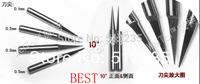 10pcs 3.175 engraving bits for spindle motor/ V shape enraving blades