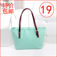 Free Shipping Big bag 2013 autumn female fashion brief shoulder bag handbag oracle pattern shopping bag