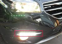 High quality plastic LED Daytime running lights front Fog lamp Fog Lights For 2012-2013 Renault Koleos