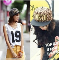 2013 Korean Style TOKYO Leopard Snapback hats high quality brand hip hop hat 2 colore mbroidered adjustable baseball cap
