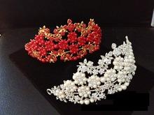 wholesale bridal crystal headband