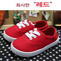 Foreign trade of the original single solid color canvas shoes children shoes children shoes women small shoes shoes shoes can To
