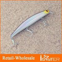 Big Fishing Lure High Quality 133mm/25g Minnow Bait Plastic Hard Bait Throwing bait Sea Fishing Lure Free Shipping