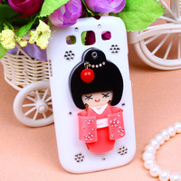 - Free shipping,new 2013 japanese girl Hard Back Cover Skin protective case shell For samsung Galaxy s3 i9300,Min Order is $10