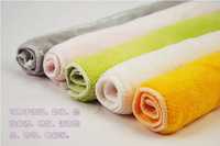 FREE SHIPPING new generation of high -quality solid bamboo fiber dish towel / nonstick oil rag 10PCS