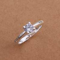 Lose Money!!Wholesale 925 Silver Ring,925 Silver Fashion Jewelry Austria Crystal Fashion Ring SMTR185