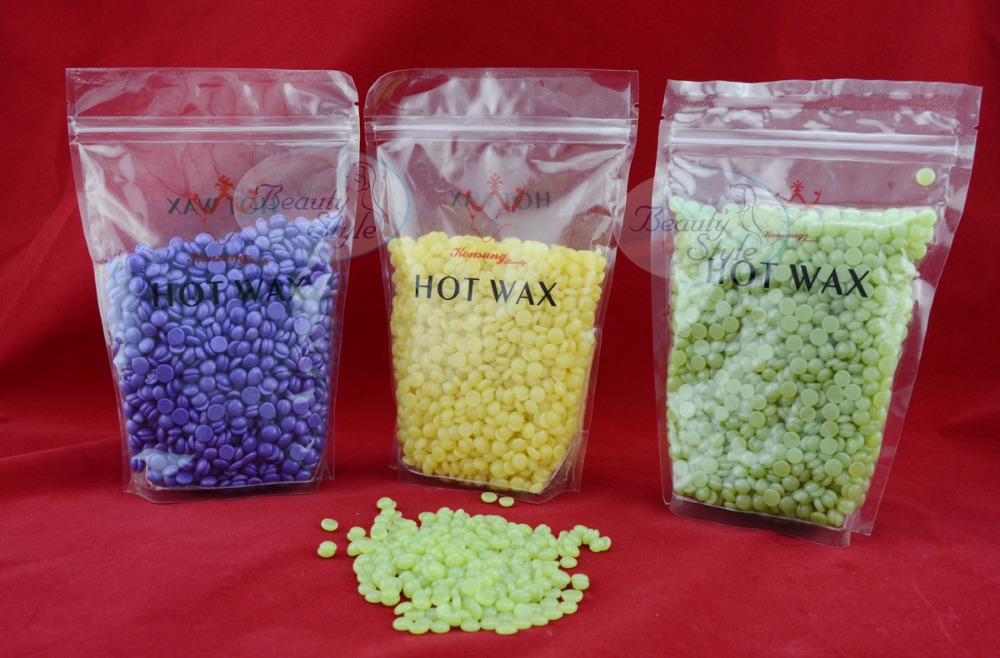 new arrival new technology hot sale beauty depilatory skin care hot wax & hair removal hot wax bean ,1*300g(China (Mainland))