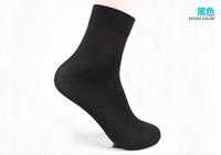 HOT 20Pair Man Short Bamboo fiber Socks Black  Stockings Middle Socks