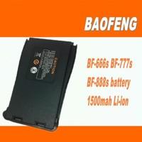 Freeshipping+ Baofeng bf-666s bf-888s two way radio 1500mah li-ion battery ham radio recharger battery pack for baofeng 888s