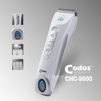 Cp9600 Codos Professional Dog Cat Pet Cordless Digital LCD Display Pet Clipper Kit Free Shipping