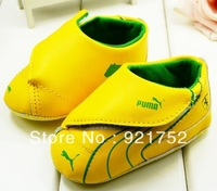free shipping New Baby branded shoes yellow baby toddler shoes  baby soft bottom shoes 1515