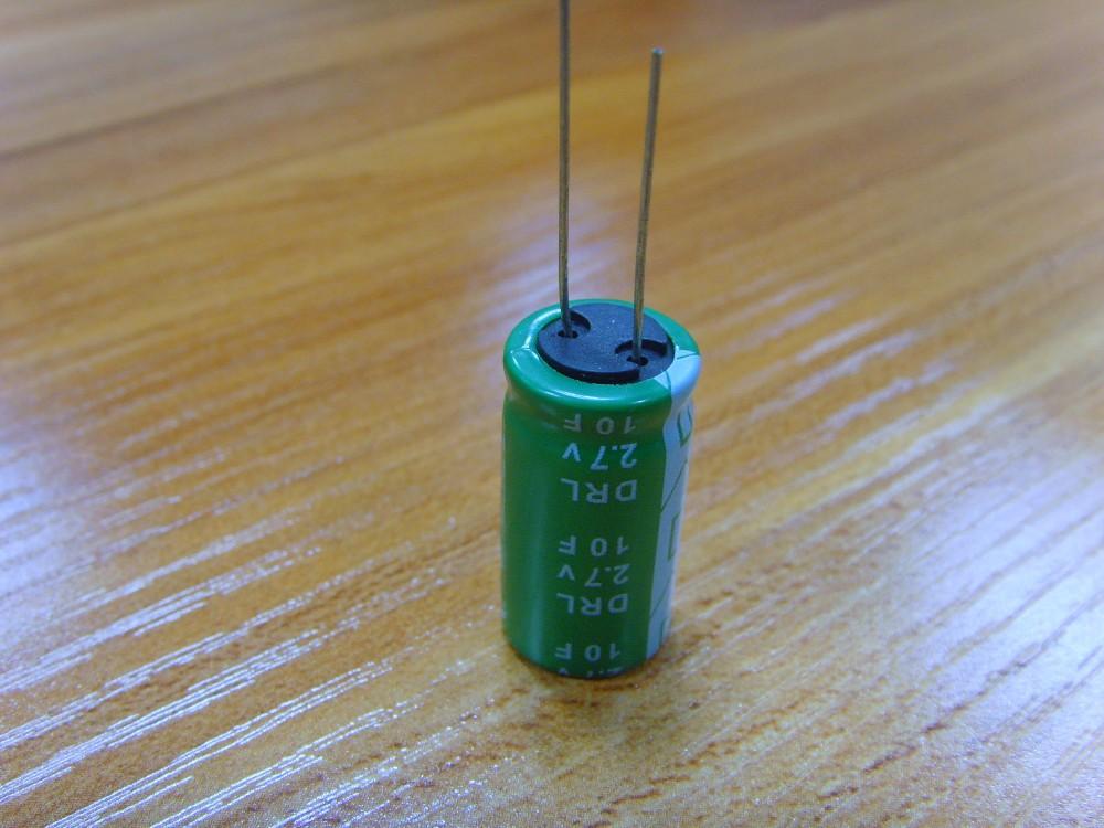 10f super capacitor 2.7v large capacity(China (Mainland))