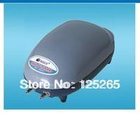 Resun 220-240V 4.5W 240L/hr  2 Outlets Silent Aquarium Air Pump