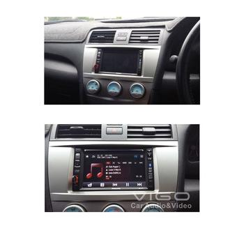 07-003 Top Quality Car Radio Fascia Panel for Toyota Camry Stereo Facia Trim Dash CD Installation Kit Free Shipping Worldwide