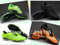 Free Shipping Newest Model Hypervenom Phantom Football Shoes Men's Soccer Shoes Cleats Boots FG Black Orange Green