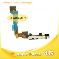 AP-01-PT070 10pcs/lot USB Charger Charging Port Dock Connector Flex Cable Black for iPhone 4 4g CDMA Verizon