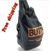 New men's shoulder bag bucket   canvas bag leisure backpack personalized men men's travel bags canvas duffle bag