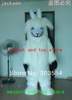 White Goat  Mascot Costume Chrismas costume Halloween Costume