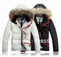 Free shipping 2013 Men's coat Winter Hoodies Hooded Outwear, Down jacket,down parkas wholesale brand jackets
